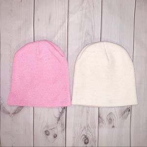 ♡  Set of 3 Beanies & 1 Headband ♡